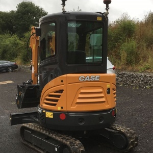 Case CX26C Mini Digger
