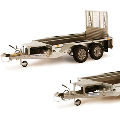 GX106 with Ramp Trailer for Hire
