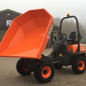 Ausa D350 Swivel 3 ton Dumper Hire