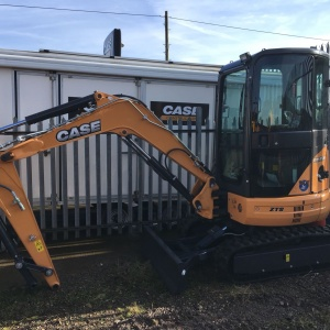 CX35B Mini Excavator Hire Swindon