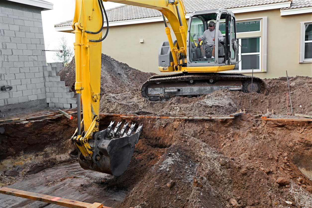 Self-build construction? Hire your equipment!